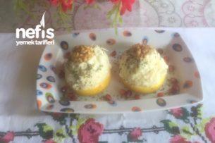 Portakal Dilimlerinde Kereviz Salatası Tarifi
