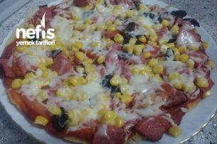 Tavada Pizza ( Enfes Lezzet ) Tarifi