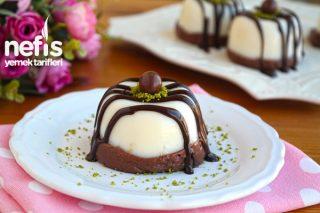Pratik Çikolatalı Sütlü Tatlı Tarifi (Video)
