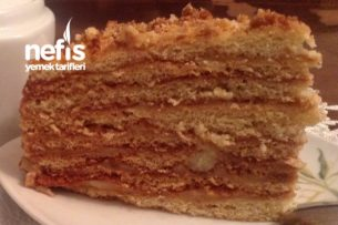 Rus Mutfağından Ballı Pasta Tarifi