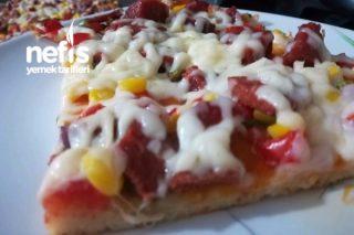 Müthiş İncecik Pizza Tarifi