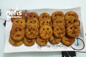 Patatesli Gülen Yüz Kızartması Tarifi