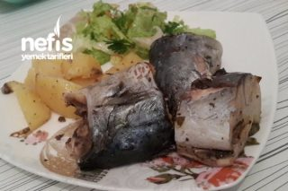 Fırın Torbasında Büyük Balık Tarifi