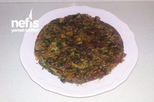 Ispanaklı Omlet (Börek Tadında) Tarifi