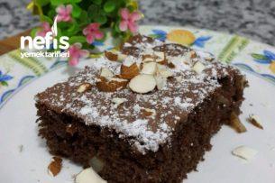 Kakaolu Elmalı Pratik Kek (Az Malzemeli) Tarifi