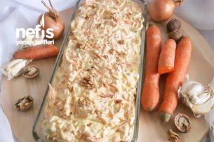 Yoğurtlu Cevizli Havuç Salatası Tarifi