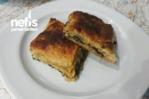 Ispanaklı Börek (Sodalı) Tarifi
