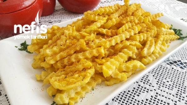 Muhteşem Baharatı İle Parmak Patates