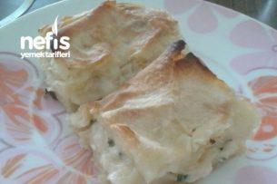 Peynirli Yalancı Su Böreği Tarifi