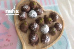 Çikolata Kaplı Muzlu Toplar Tarifi