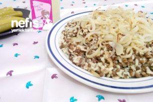 Mercimekli Pirinç Pilavı (İmceddere) Tarifi