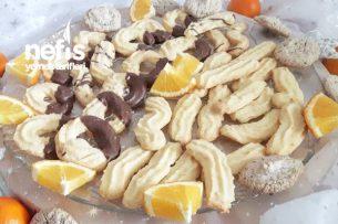 Portakal Aromalı Kurabiye Tarifi