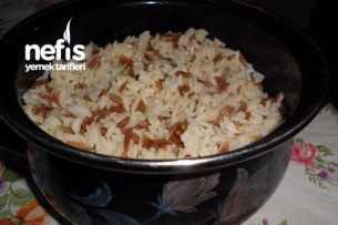 Tane Tane Zeytinyağlı Pirinç Pilavı Tarifi