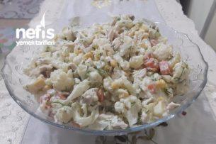 Tavuklu Karnabahar Salatası Tarifi