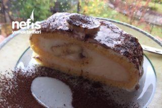 Glutensiz Muzlu Rulo Pasta (Harika) Tarifi