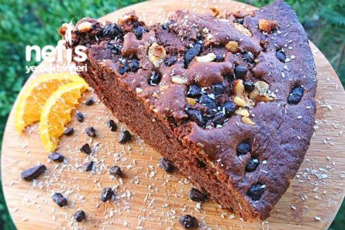 Kakaolu Portakallı Hindistan Cevizli Kek Tarifi