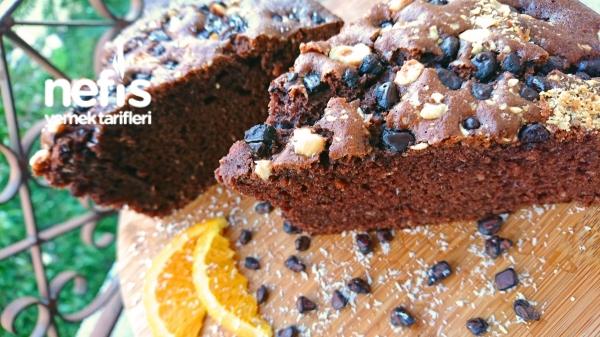 Kakaolu Portakallı Hindistan Cevizli Kek
