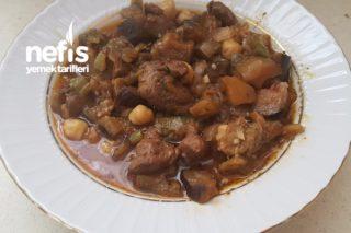 Patlıcan Yemeği (Gaziantep Usulü Ekşili Patlıcan Doğrama) Tarifi