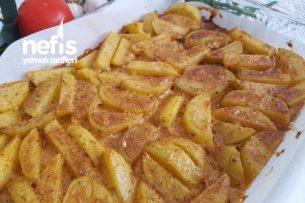 Cajun Baharatlı Fırında Patates (Şahane) Tarifi