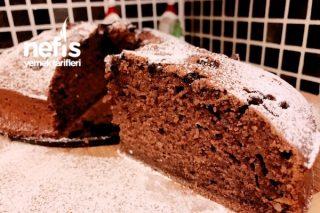 Cevizli Ve Damla Çikolatalı Kakaolu Kek (Harika Lezzet) Tarifi