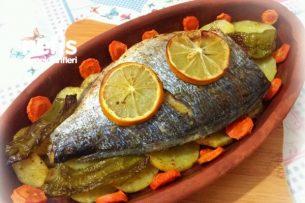 Fırında Özel Soslu Balık (Patatesli) Tarifi