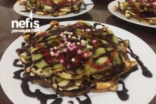 Pratik Nefis Waffle Tarifi