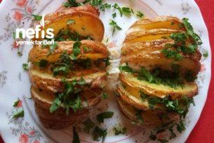Fırında Dilimli Patates Tarifi