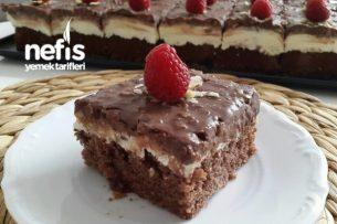 Nefis Fındıklı Çikolatalı Islak Pasta Tarifi