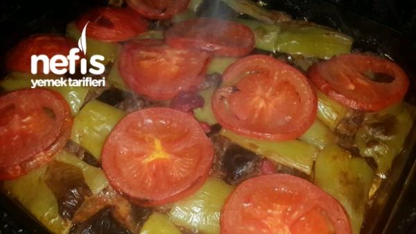 Sağlıklı Diyabetik Diyet Patlıcanlı Köfte