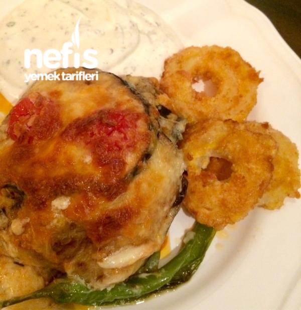 Tavuklu Patlıcan Sufle
