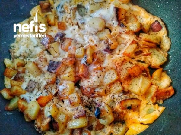 Yumurtalı Sucuklu Patates