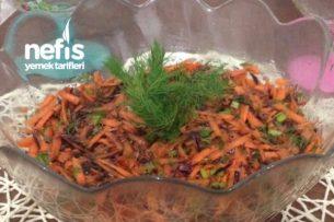 Bol Ekşili Havuç Salatası Tarifi