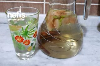 Elmalı Tarçınlı Detoks Suyu Tarifi
