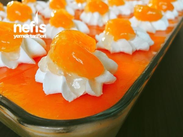 Mandalinalı Kremalı Pasta(Şahane Lezzet)
