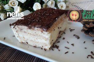 Labneli Muhallebi Pastası Tarifi