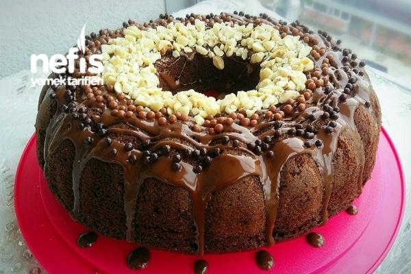 Duble Çikolatalı Pamuk Kek (Toz Pudingli) Tarifi