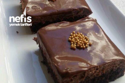 Ganajlı Müthiş Pasta (Çikolata Severler Mutlaka Denesin) (videolu) Tarifi