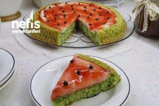 Ispanaklı Karpuz Kek Tarifi