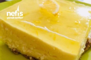 Limonlu Cheesecake (Pratik ve Lezzetli) Tarifi