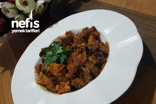 Patlıcan Yemeği (Türlü) Doğu Usulü Tarifi