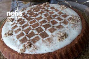 Tart Kalıbında Havuçlu Tarçınlı Kek Tarifi