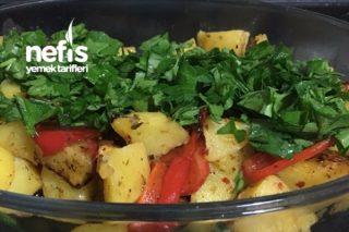 Patates Ve Kapya Biber (Garnitür) Tarifi