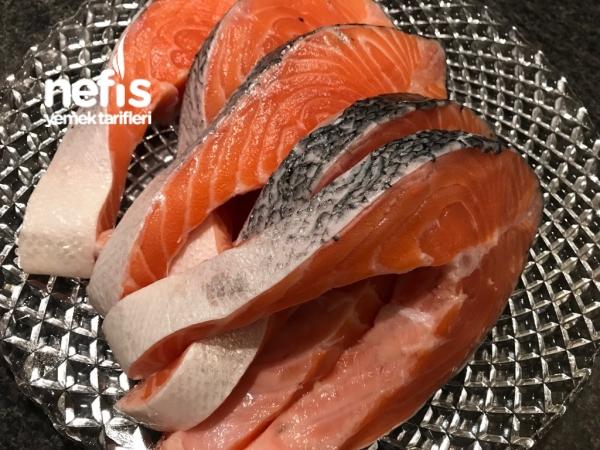 Tavada Somon Balığı ( Çok Pratik Enfes Lezzet)