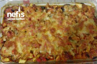 Tavuklu Patlıcan Patates Kebabı Tarifi
