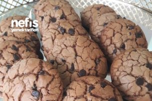 Damla Çikolatali Kahve Aromalı Kurabiye (Nefis) Tarifi