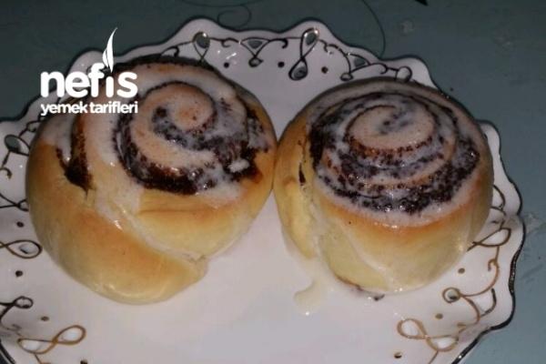 Tarçınlı Rulolar (Cinnabon Cinnamon Rolls)
