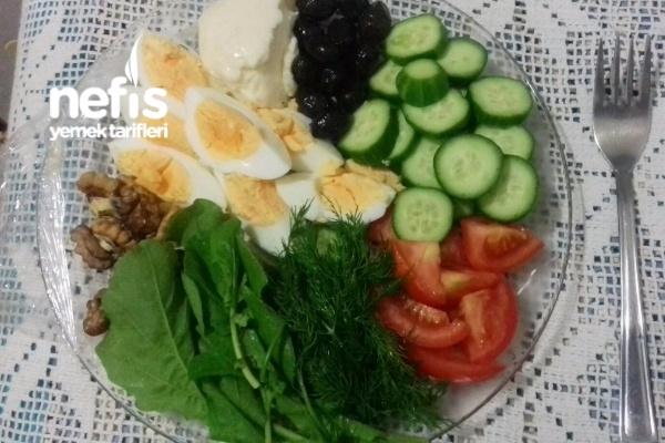 Canan Karatay Diyet Kahvaltısı (kilo Verme Garantili)bol Proteinli Tarifi
