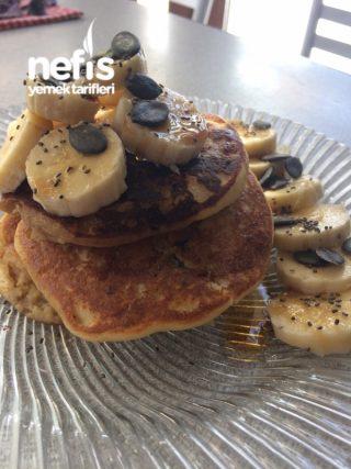 Nohut Unlu Protein Pancake
