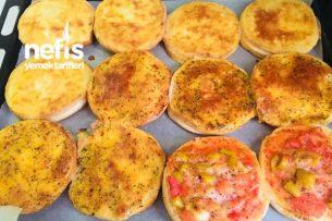Fırında Kahvaltılık Ekmek Dilimleri Tarifi