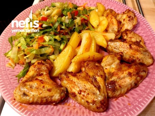 Fırında Tavuk Kanat(mangal Tadında)